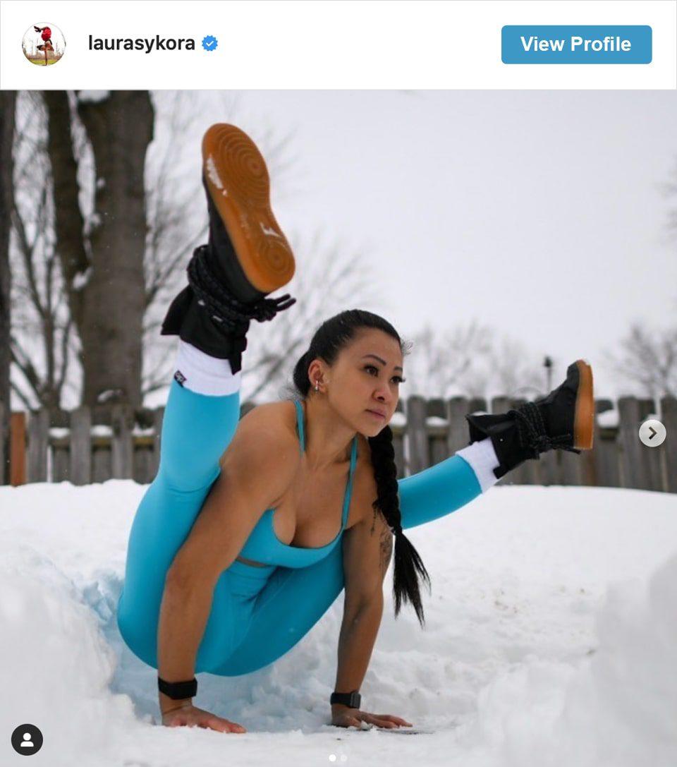 Follow Laura Sykora's Insstagram account