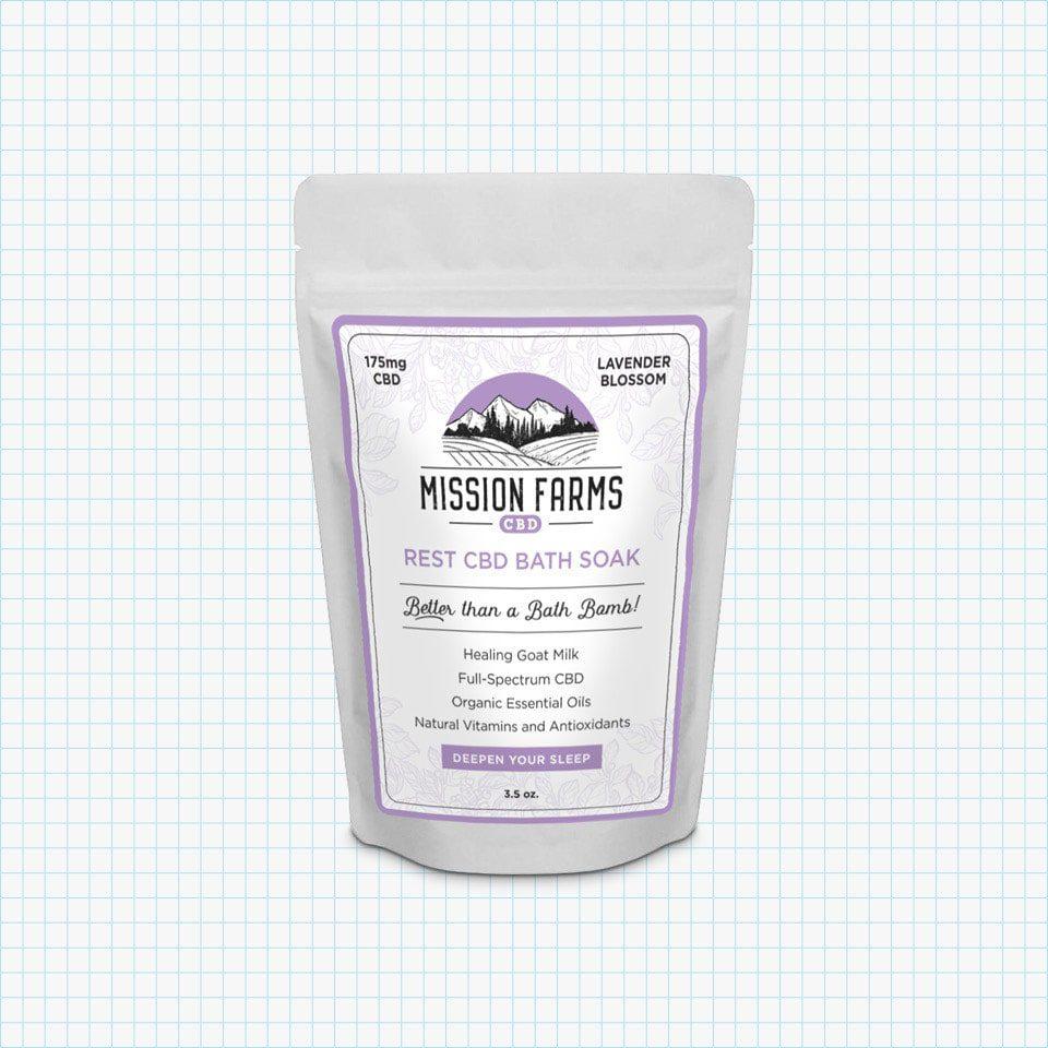 Mission Farms Rest CBD Bath Soak
