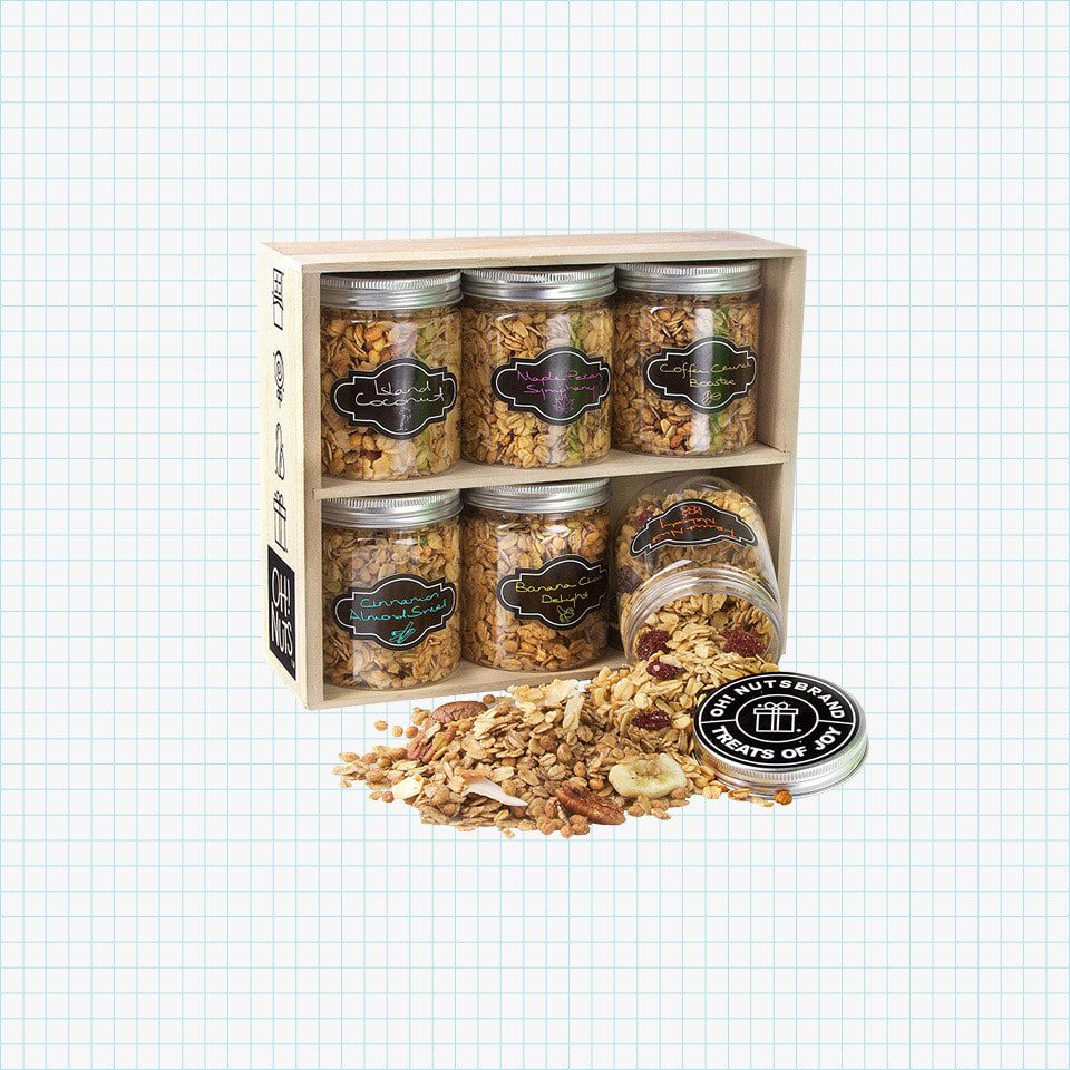 Oh! Nuts Healthy Granola Gift Baskets