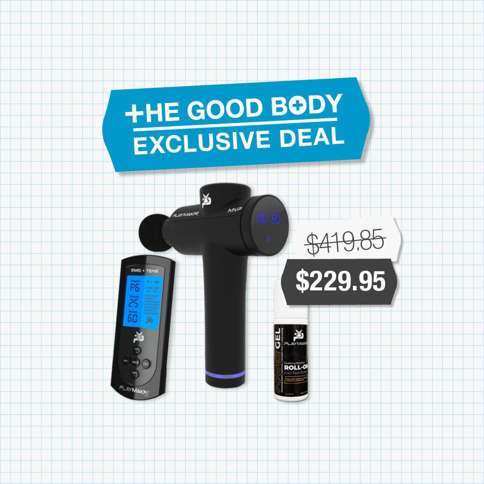 PlayMakar's Back Care Bundle – Exclusive to The Good Body