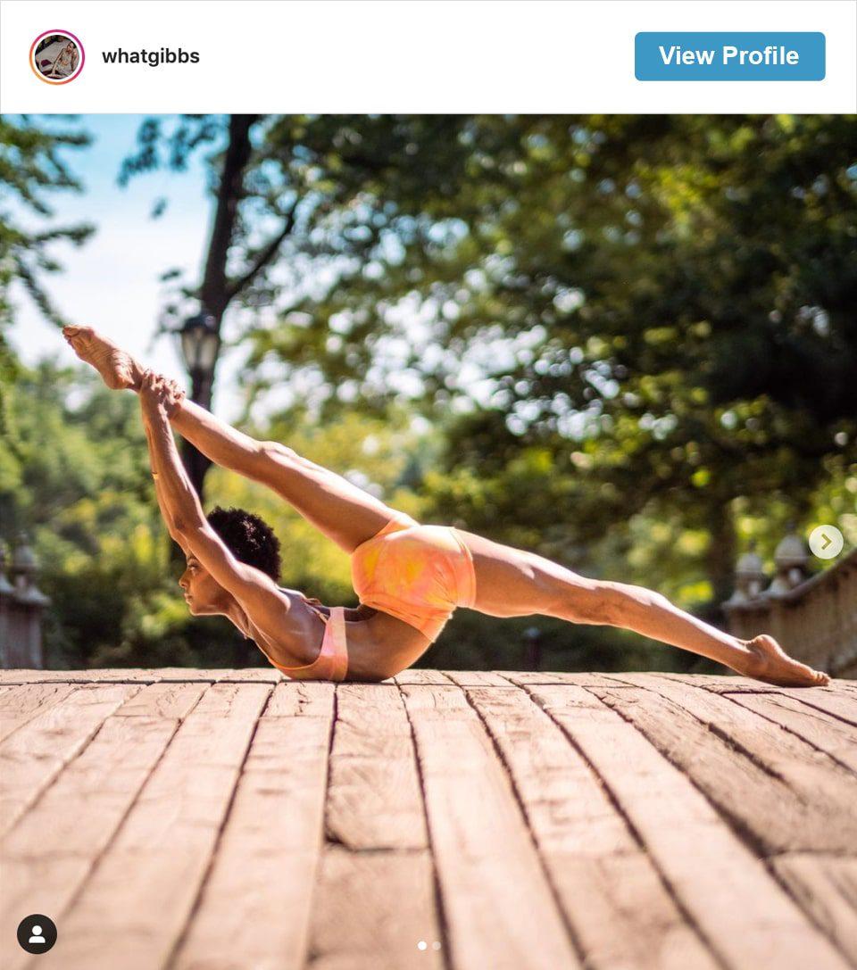 Follow Victoria Gibbs' Instagram account