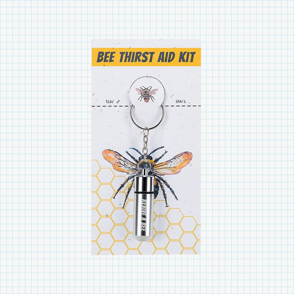 Bee Revival Keyring with Invertbee Syrup