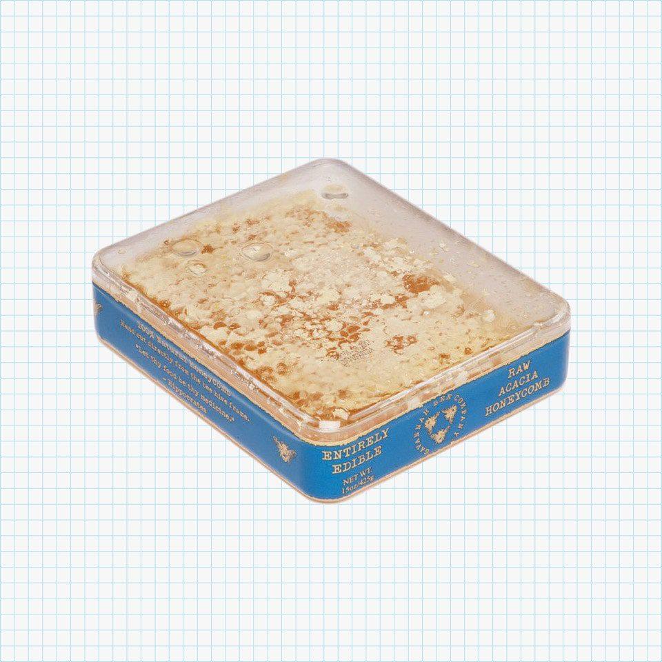 Honeycomb Acacia Tray, 12 oz