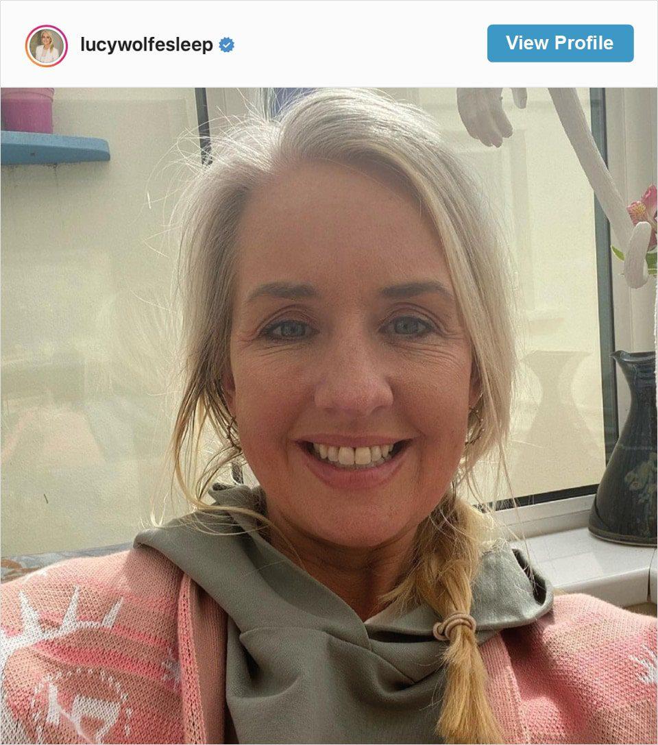 Follow Lucy Wolfe's Instagram account