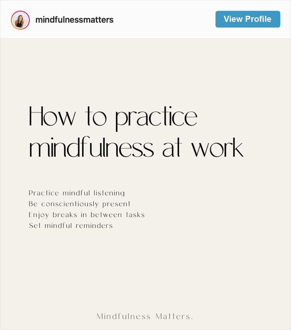 Follow Samara Zelniker's Instagram account