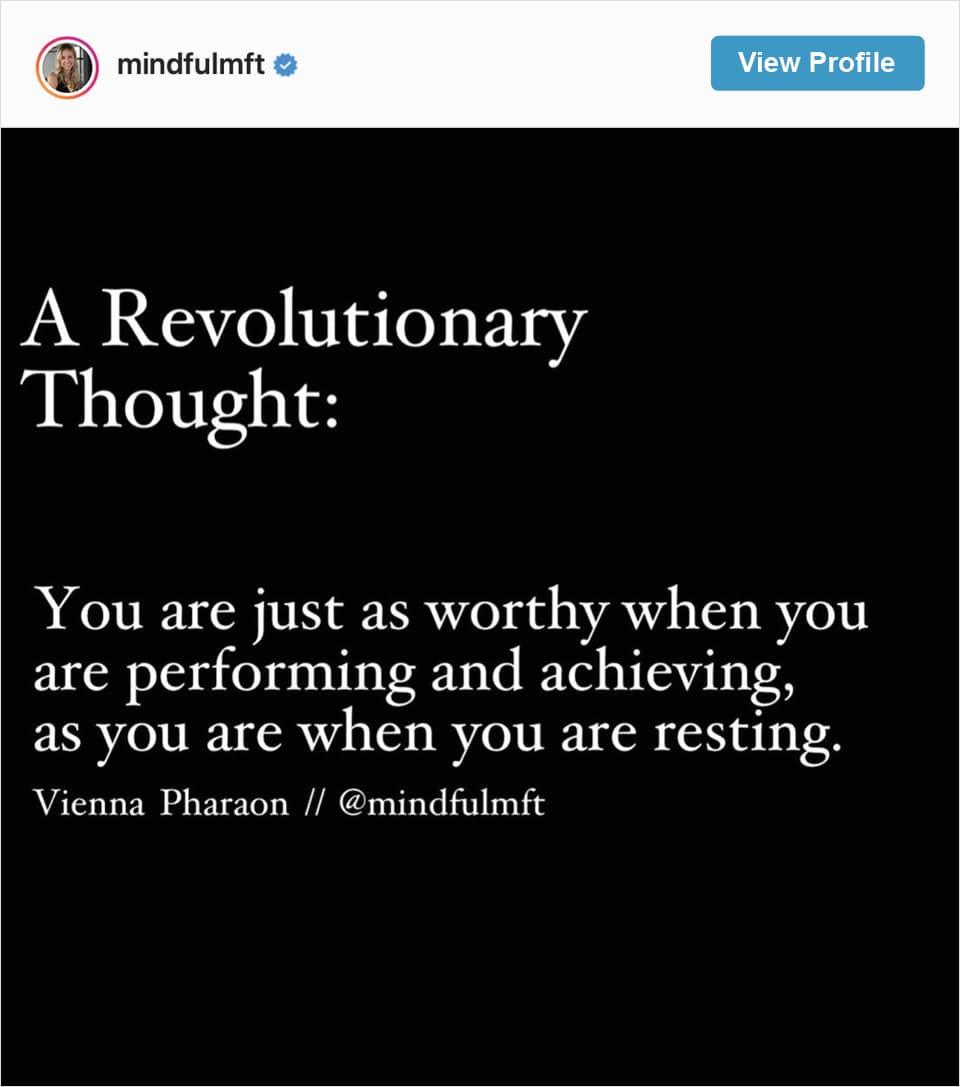 Follow Vienna Pharaon's Instagram account
