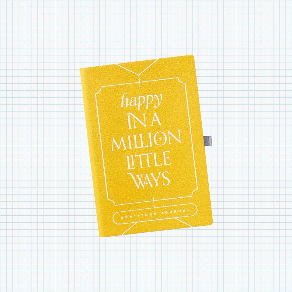 Happy In A Million Little Ways Gratitude Journal