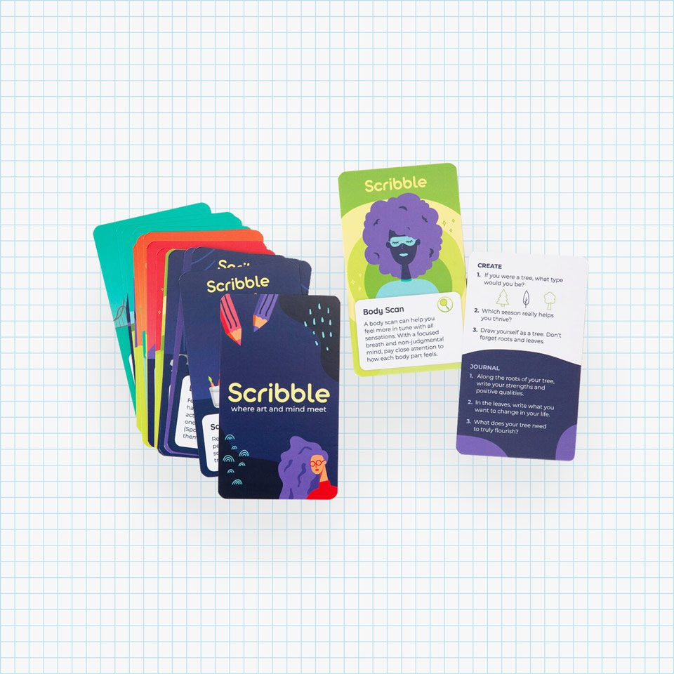 Scribble Journal Activity Cards